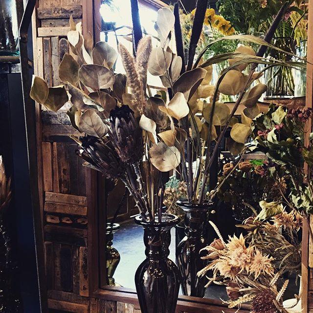 秋っぽいdry bouquet。今一本の映画を久...