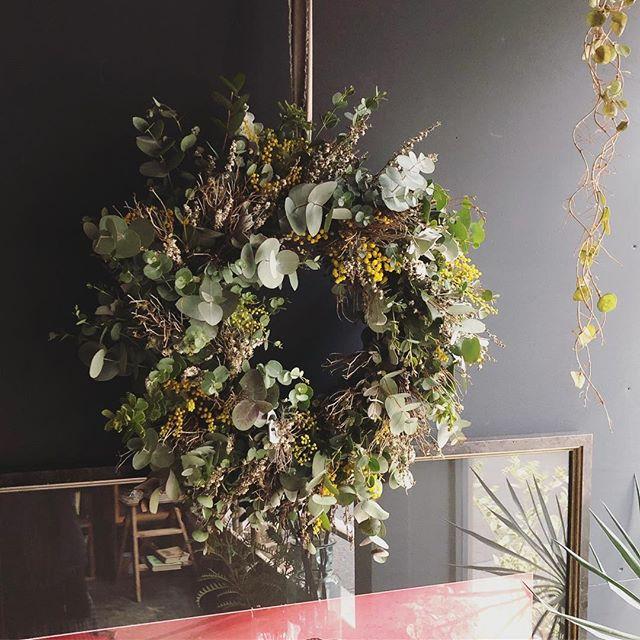 order wreathe.自然を感じられるように、...