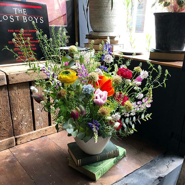 見舞い花。春を感じてもらえるように🌷...