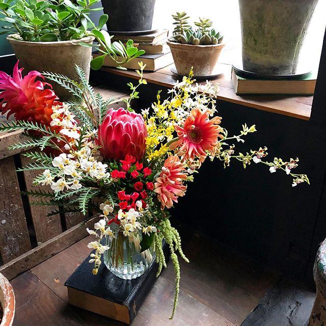 夏と元気な花が大好きなお兄さん夫婦へのb...