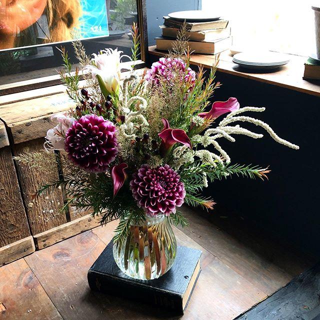 お花が完売しましたので本日は早目にclose...