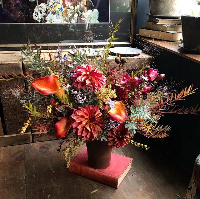秋色祝い花🍂・お父さまへのbirthday bo...