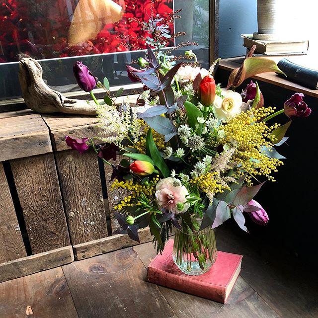 birthday bouquet 💐息子から母に贈る春の...