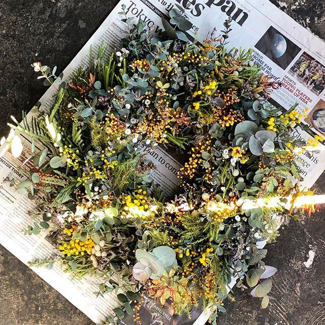 wreathe & swag 🌿春夏用、秋冬用といつも...
